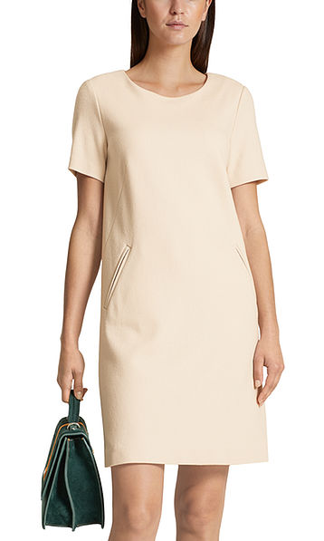 Dress with cashmere