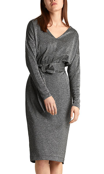 Glitzerndes Lurex-Kleid