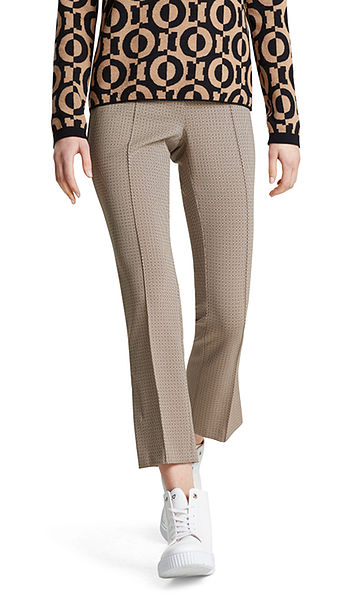 Pants with graphic pattern
