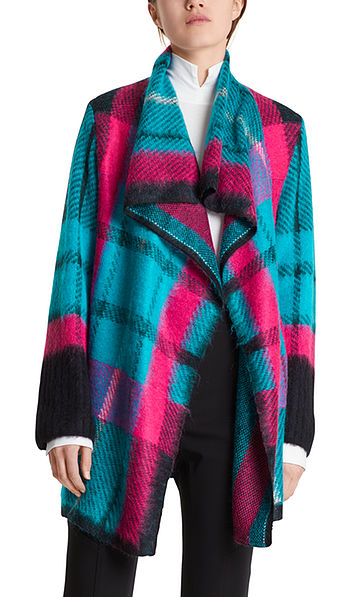 Jacket with mohair
