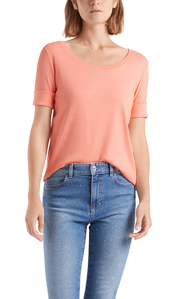 Basic top in fine jersey