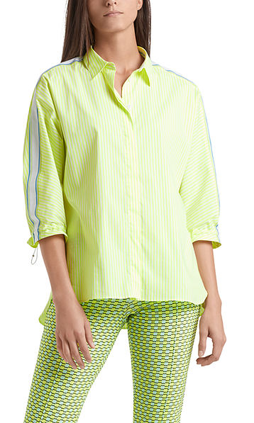Blouse with sporty details