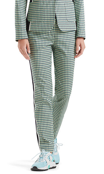 Pants in jacquard fabric