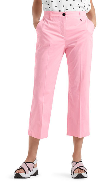 Pantalon van stretchkatoen