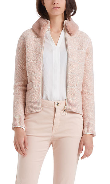 """Chunky knit jacket """"Knitted in Germany"""""""