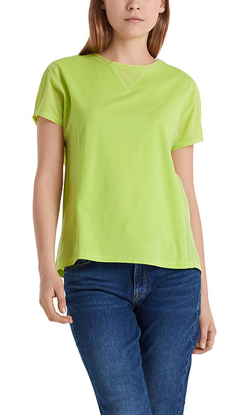 Delicate T-shirt in cotton