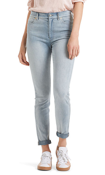 Skinny jeans met fraaie details