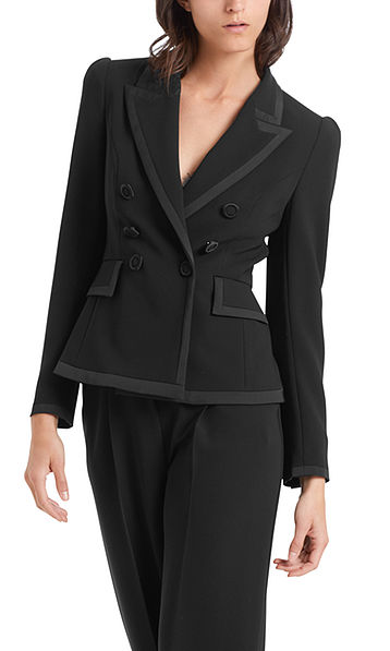 Elegant double-breasted blazer