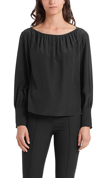 Luxurious silk blouse