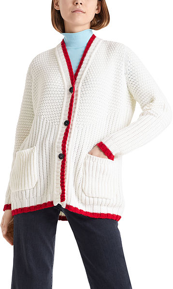 Lange Strickjacke Knitted in Germany