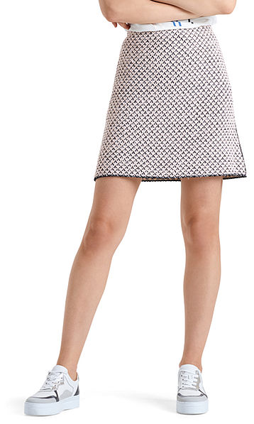 "Jacquard skirt ""Knitted in Germany"""