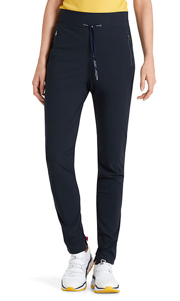Smalle pantalon met stretch