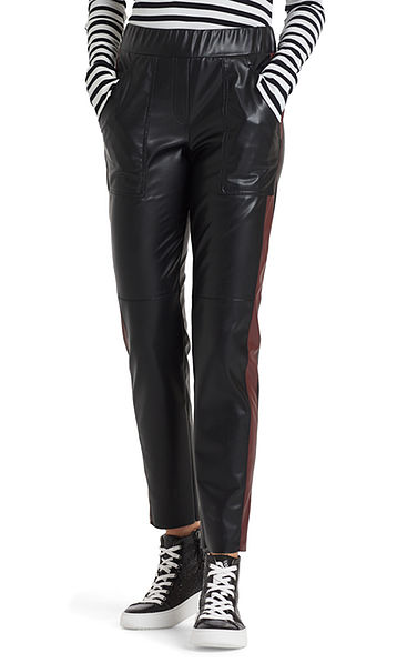 Cool pants in faux leather