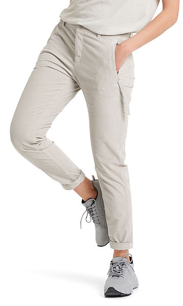 Casual fine cord pants