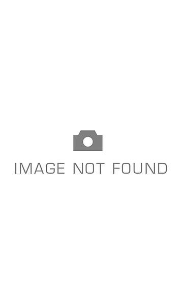 Jeans met leerfinish