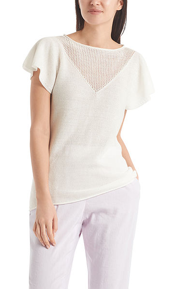 Short-sleeved sweater Made in Germany