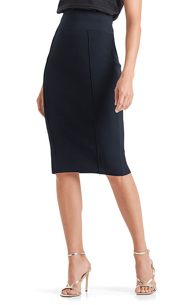"""High-waisted skirt """"Knitted in Germany"""""""