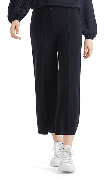 Cropped pantalon 'Knitted in Germany'