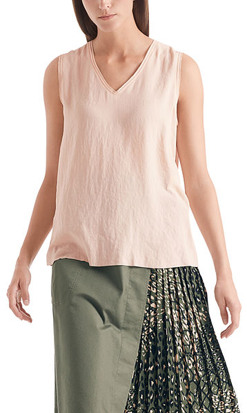Top in mixed materials
