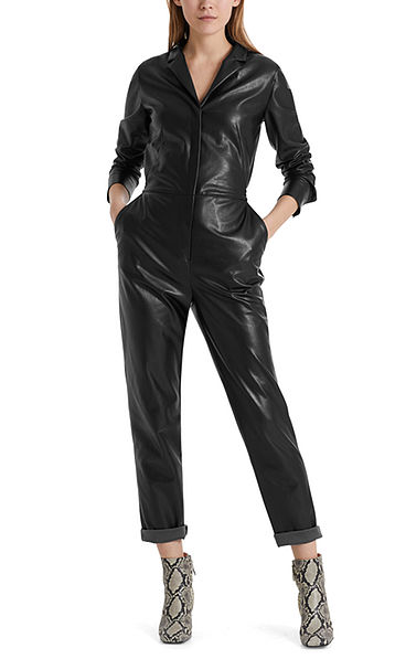 Limited edition: Fake leather jumpsuit