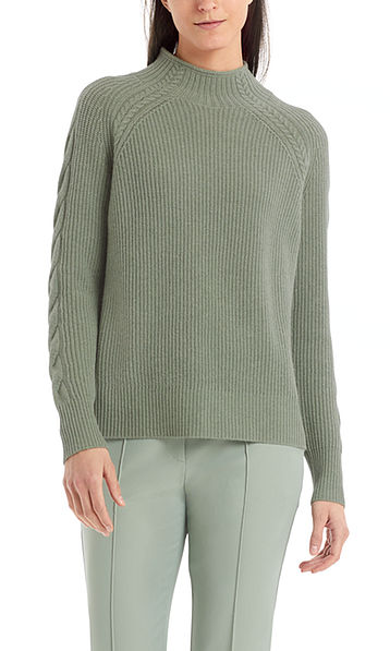 Sweater with cashmere