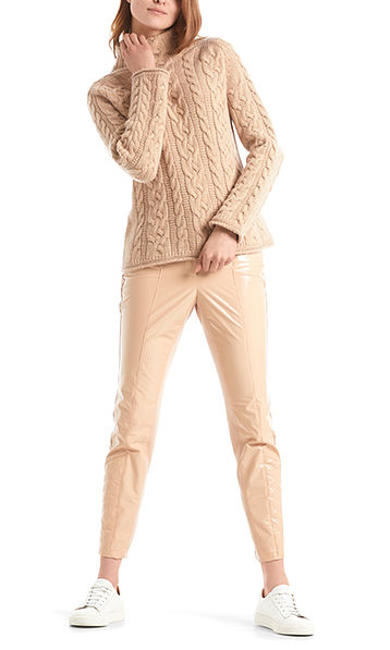 Cable-knit sweater 100% Made in Germany